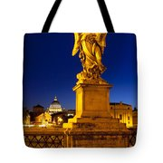 Ponte Sant Angelo Tote Bag