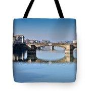 Ponte Santa Trinita Florence Italy Tote Bag