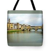Ponte Vecchio 1 Tote Bag
