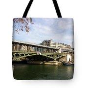 ponte verde a Parigi Tote Bag