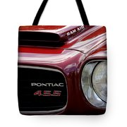 Pontiac 455 Tote Bag