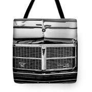Pontiac Grand Ville Grille -0332bw Tote Bag