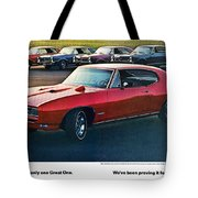 Pontiac Gto - 1964 1965 1966 1967 1968 Tote Bag