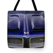 Pontiac Hood Tote Bag