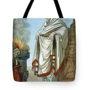 Pontifex Maximus, Illustration Tote Bag