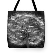 Poof - Black And White Tote Bag