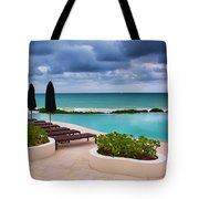 Pool At Rosewood Mayakoba Tote Bag