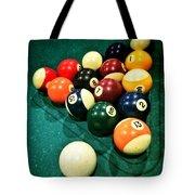 Pool Balls Tote Bag by Carlos Caetano