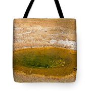 Pool In Upper Geyser Basin In Yellowstone National Park Tote Bag
