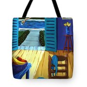 Pool Side Suite Tote Bag