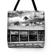 Pool Storm Palm Springs Tote Bag