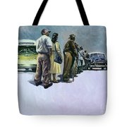 Pools Of Defiance Tote Bag by Colin Bootman