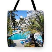 Poolside 01 Tote Bag