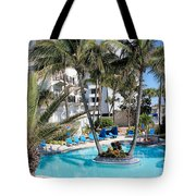 Miami Beach Poolside 03 Tote Bag