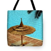 Poolside Relaxation Tote Bag