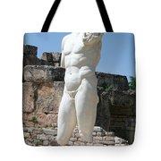 Poolside Statue Tote Bag
