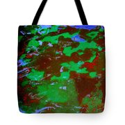 Poolwater Abstract Tote Bag