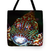 Poopaa Hawaiian Hawk Fish Tote Bag