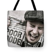 Poor Model Tote Bag