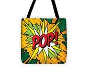 Pop Art 4 Tote Bag