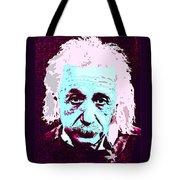 Pop Art Einstein No 3 Tote Bag