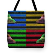 Pop Art Pears Tote Bag