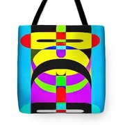 Pop Art People Totem 7 Tote Bag