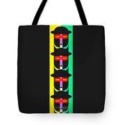 Pop Art People Totem 8 Tote Bag