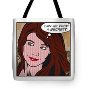 Pop Art Porn Stars - Mia Sollis Tote Bag