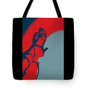 Pop Art Shoes In Red Tote Bag