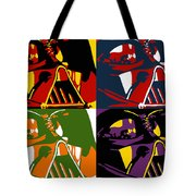 Pop Art Vader Tote Bag