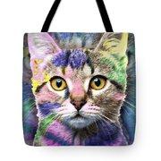 Pop Cat Tote Bag