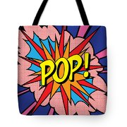 Pop Exclamation Tote Bag by Gary Grayson
