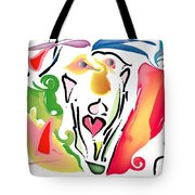 Pop Goes The Crazy Tote Bag