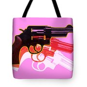 Pop Handgun Tote Bag by Gary Grayson