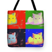 Pop Kitty Tote Bag