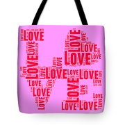 Pop Love 4 Tote Bag