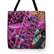 Pop Of Purple Tote Bag