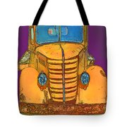 Pop Old Truck Tote Bag