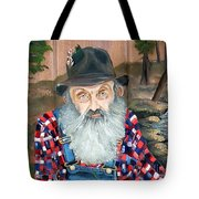 Popcorn Sutton - Moonshine Legend - Landscape View Tote Bag