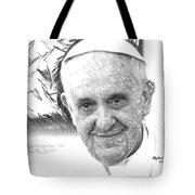 Pope Francis - Jorge Mario Bergoglio Tote Bag