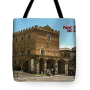 Popes Palace Tote Bag