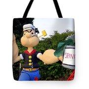 Popeye The Sailor Man Tote Bag