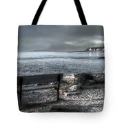Popham Beach Maine Tote Bag