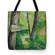 Poplar Point Camp Tote Bag