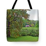 Poplar Tree In The Valley Tote Bag
