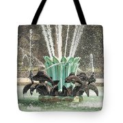 Popp Fountain In City Park New Orleans Tote Bag