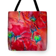 Poppies 2 Tote Bag