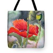 Poppies 3 Tote Bag