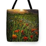 Poppies Art Tote Bag